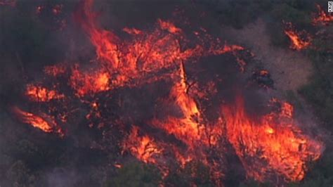 Firefighters battle largest wildfire in New Mexico's
