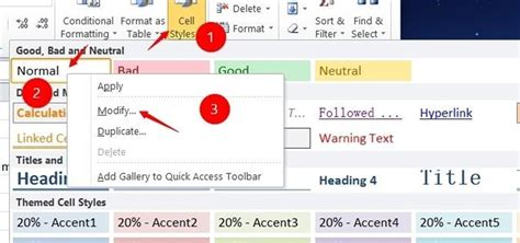 How to Change the Default Font in Excel 2010 « Microsoft