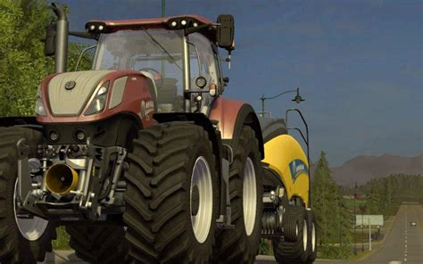 NEW HOLLAND T7 HD » GamesMods