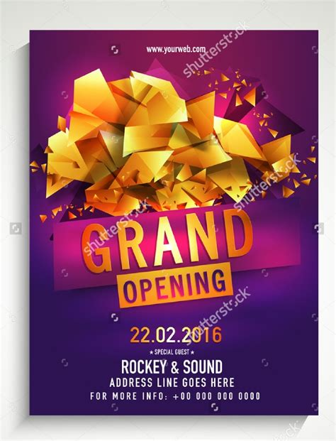 21+ Grand Opening Flyer Templates - Printable PSD, AI
