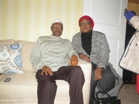 Aisha Buhari releases another pictures of President Buhari