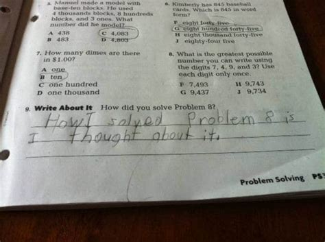 20 Brilliant test answers given by kids