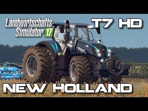 New Holland T7 Red Rikie V 1