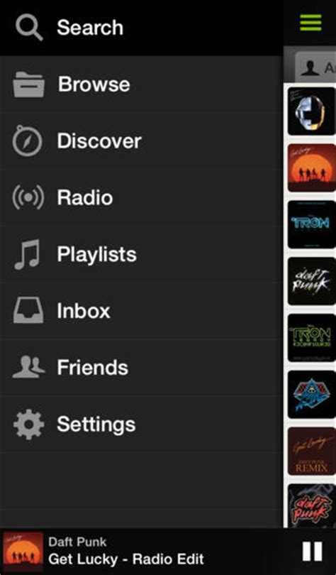 Spotify iOS refreshed with instant search, artist tour