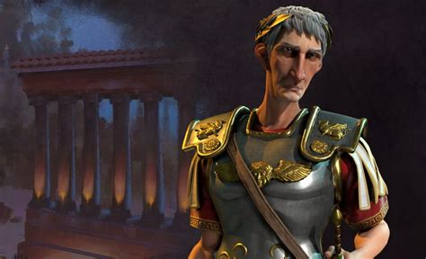 Trajan takes charge of Rome in Civilization 6 | PC Gamer