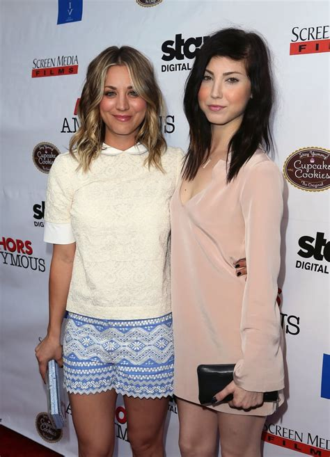 Kaley and Briana Cuoco | Celebrities With Their Siblings