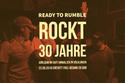 Rtr - Ready to Rumble - Rock and Blues