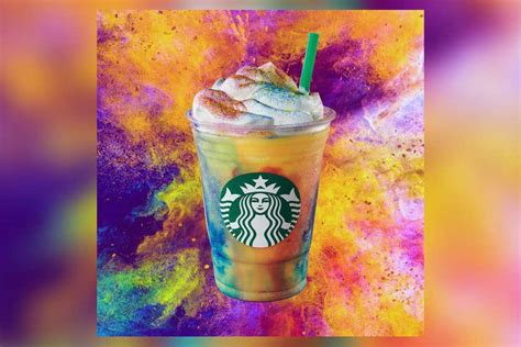 Starbucks just released maybe its most colorful drink ever