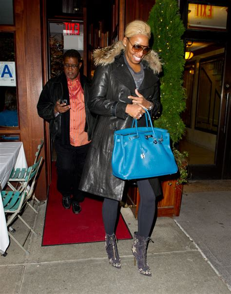 Nene Leakes Dines in NYC with Hermes and a Fellow