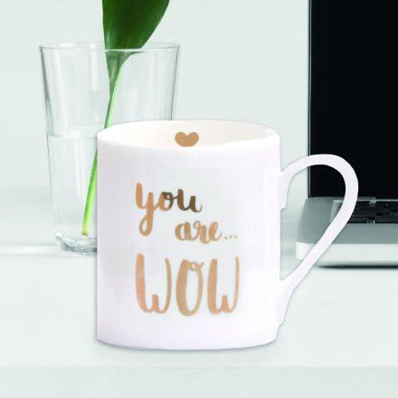 Becher 'You are Wow'