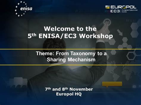 5th Europol EC3/ENISA Workshop on the importance of