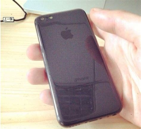 Black Apple iPhone 5C spotted for the first time