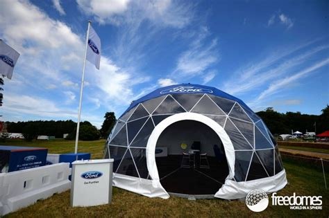 Branded dome for Ford at Cholmondeley Pageant of Power