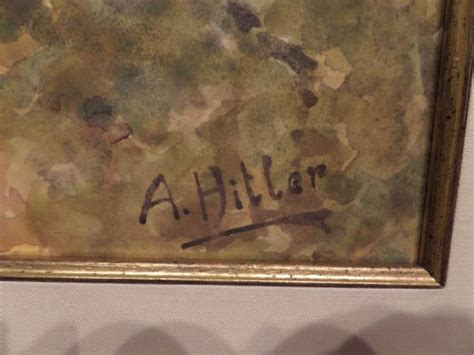 Hitler's signature - Picture of Florence County Museum