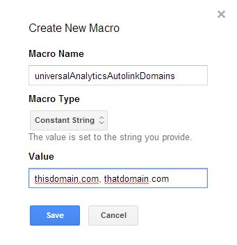 Migrating to Universal Analytics Using Google Tag Manager