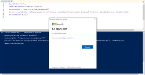 How to connect in PowerShell on Office 365 - Rached CHADER