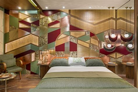 » Retro Hotel Room at Hotel Design Show Exhibition by