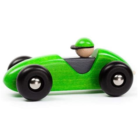 Wooden Toy Race Car and Driver - Oompa Toys