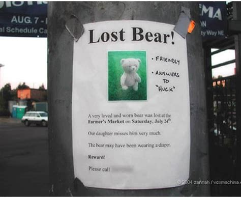 10 Hilarious Lost And Found Signs