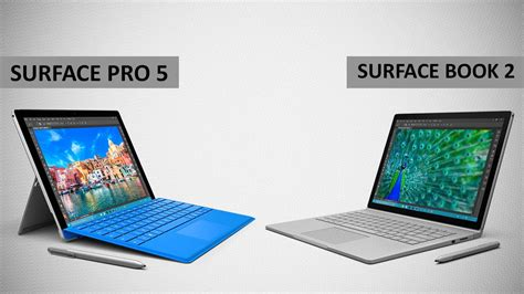 Microsoft Surface Pro 5 and Surface Book 2 Leaked Release
