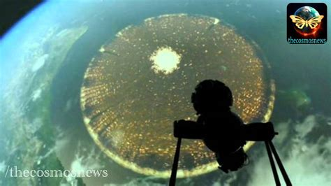 UFO Mothership? 3,000 Mile Wide Disc Caught By ISS Above