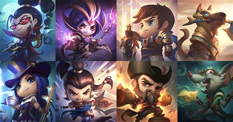 New cute summoner icons for Vayne, Nasus, and more added
