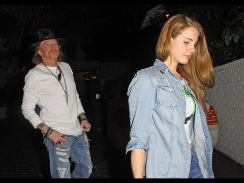 SHAMPALOVE: Lana del Rey could be Dating Axl Rose