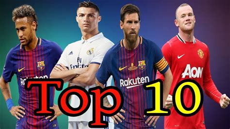 Top 10 Richest Football Players in The World 2018(HD