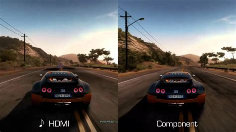 AVer 3D Capture HD test - HDMI vs Component (NFS HP) - YouTube