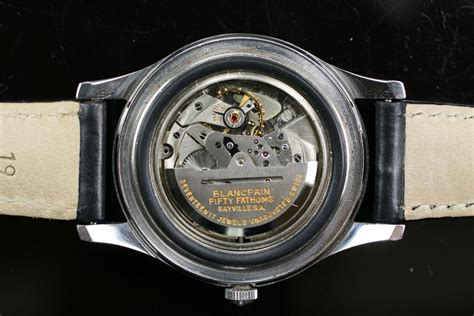 1950 Blancpain Fifty Fathoms Aqualung Watch For Sale