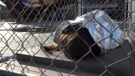 Activists left child-sized mannequins in cages around New