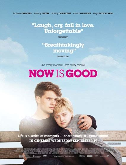 Feeling Fictional: Book to Movie Comparison: Now Is Good