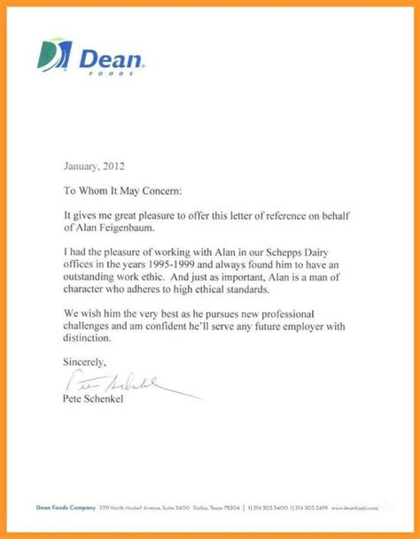 Reference Letter from Employer - How to Write a Good One
