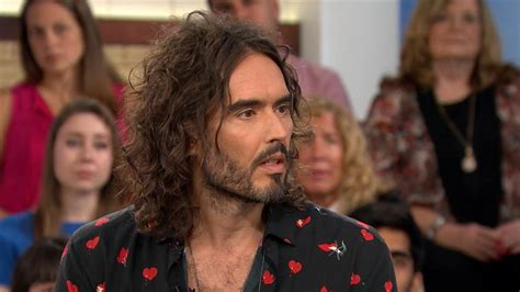 Russell Brand talks addiction, meditation and his anger