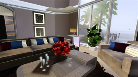 The Sims 3 ~ Building a luxury Modern Beach House~ Travico
