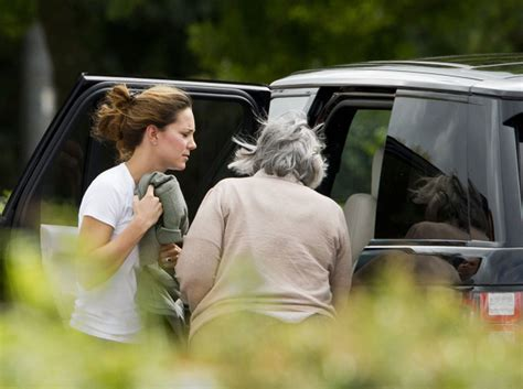 Kate Middleton spotted with Prince William's former nanny