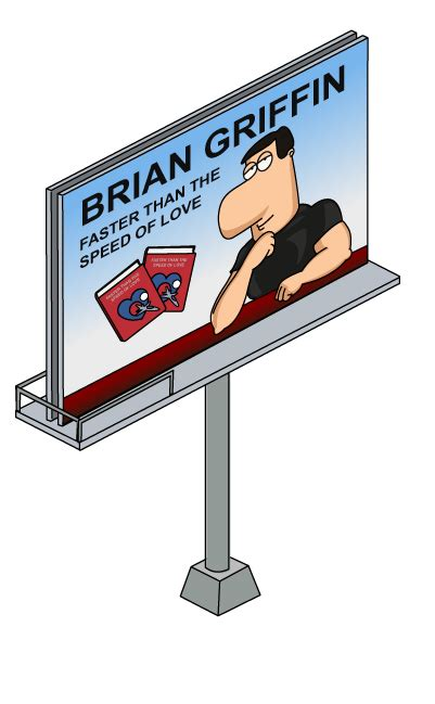 Human Brian Billboard | Family Guy: The Quest for Stuff