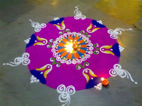 {20 Amazing} Free Hand Rangoli Designs for Competition