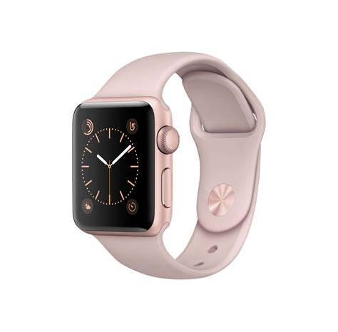 Apple Watch Series 2 38mm - Rose Gold Alu with Pink Sand
