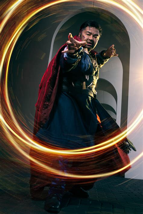 By the Hoary Hosts of Hoggoth, It's Doctor Strange Cosplay