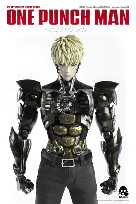 One-Punch Man Genos 1/6 Scale Figure