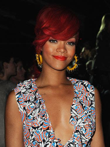 Pearl Concussion: Rihanna's red hairstyles 2011