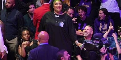 Watch: Lizzo Flaunts Her Risque Outfit for Lakers Game