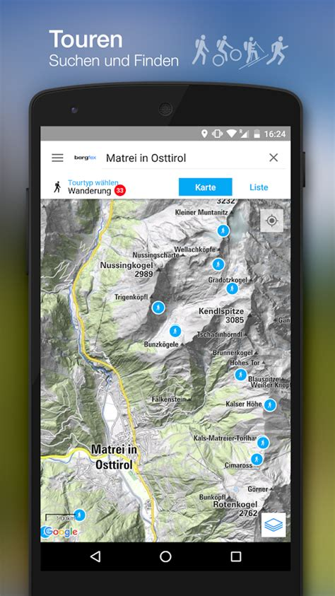 bergfex Touren & GPS Tracking – Android-Apps auf Google Play