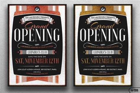 FREE 8+ Grand Opening Flyer Templates in Word | PSD | AI