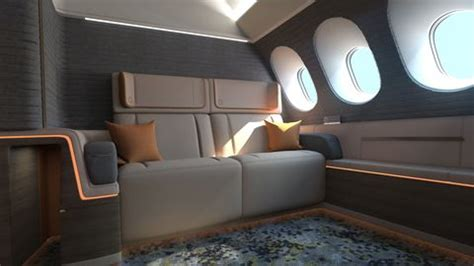 The Most Spacious Airplane Seat Could Be A Bed - Luxurious