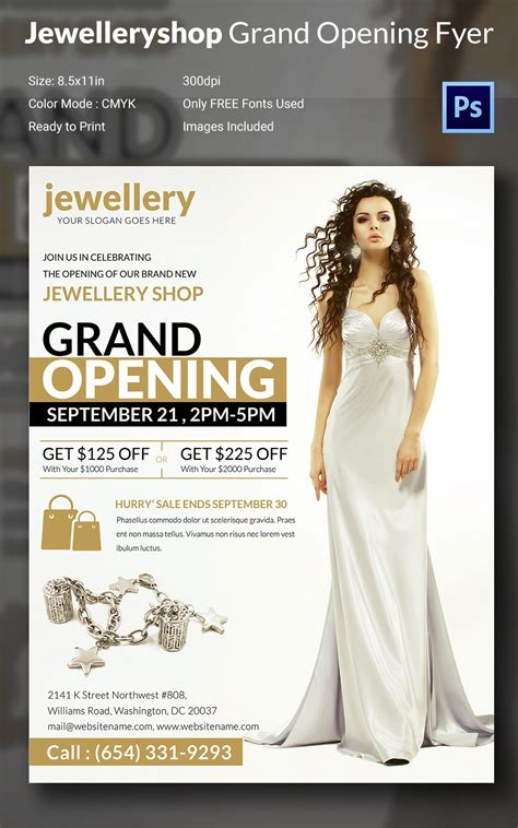 Grand Opening Flyer Template - 34+ Free PSD, AI, Vector
