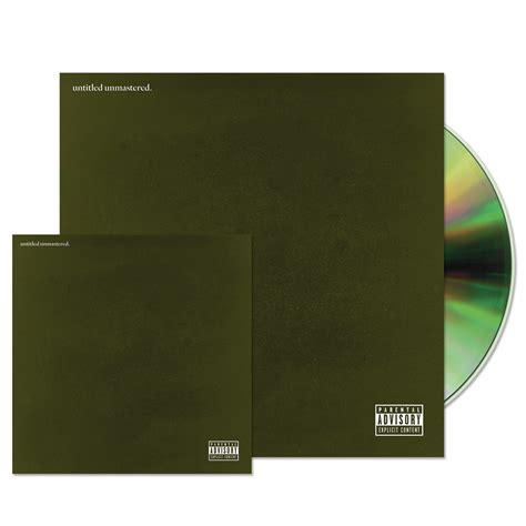 untitled unmastered CD   Kendrick Lamar Official Store