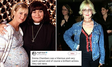 Vicar of Dibley's Emma Chambers dies aged 53   Daily Mail