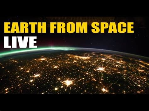 ISS Stream | Earth From Space - RECORDED Live NASA HDEV